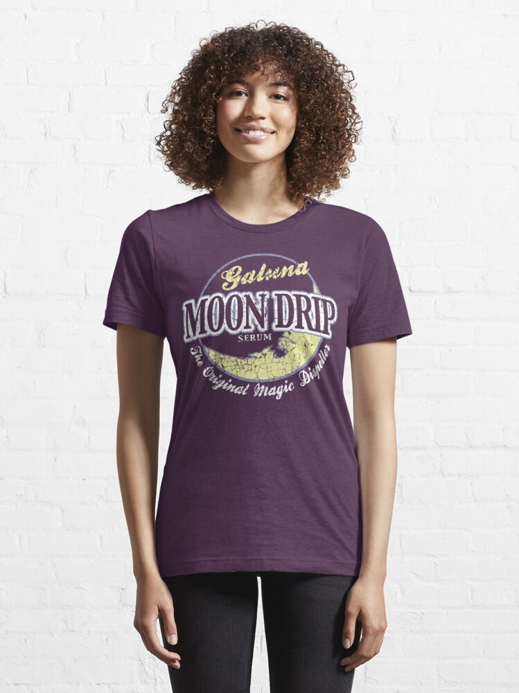 Alternate view of Galuna Moon Drip Essential T-Shirt