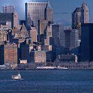 Manhattan Skyline by Dyle Warren