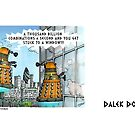 Dalek Doomsday by ToneCartoons