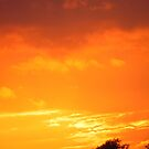 Sunset clouds by RobNichols