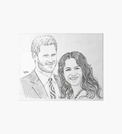 Royal love Art Board Print