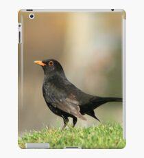 Posing Blackbird iPad Case/Skin