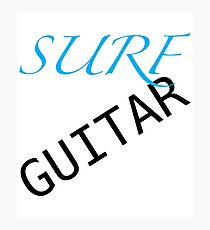 SURF GUITAR  Photographic Print