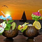 Sunset Happy Hour by Maria Dryfhout