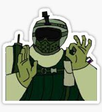 Fuze: okhand: Sticker