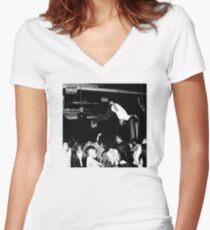Playboi Carti - Die Lit Women's Fitted V-Neck T-Shirt