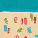 Beach Day by Jan Weiss