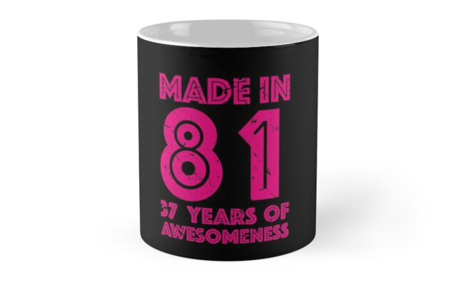37th Birthday Gift Adult Age 37 Year Old Women Womens By Matt L