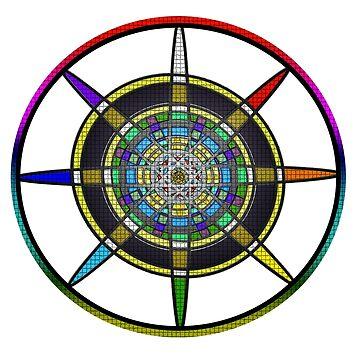 Chakra Wheel by RM-Wilde