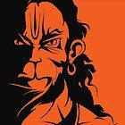 Rudra Hanuman by locartindia