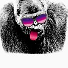 Gorilla Ape Sunglasses T-shirt by FunnyAddicting