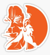 Hanuman Stickers | Redbubble