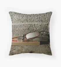 Mousetrap Throw Pillow