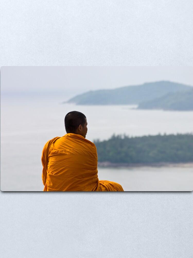 Alternate view of Thai Monk Metal Print