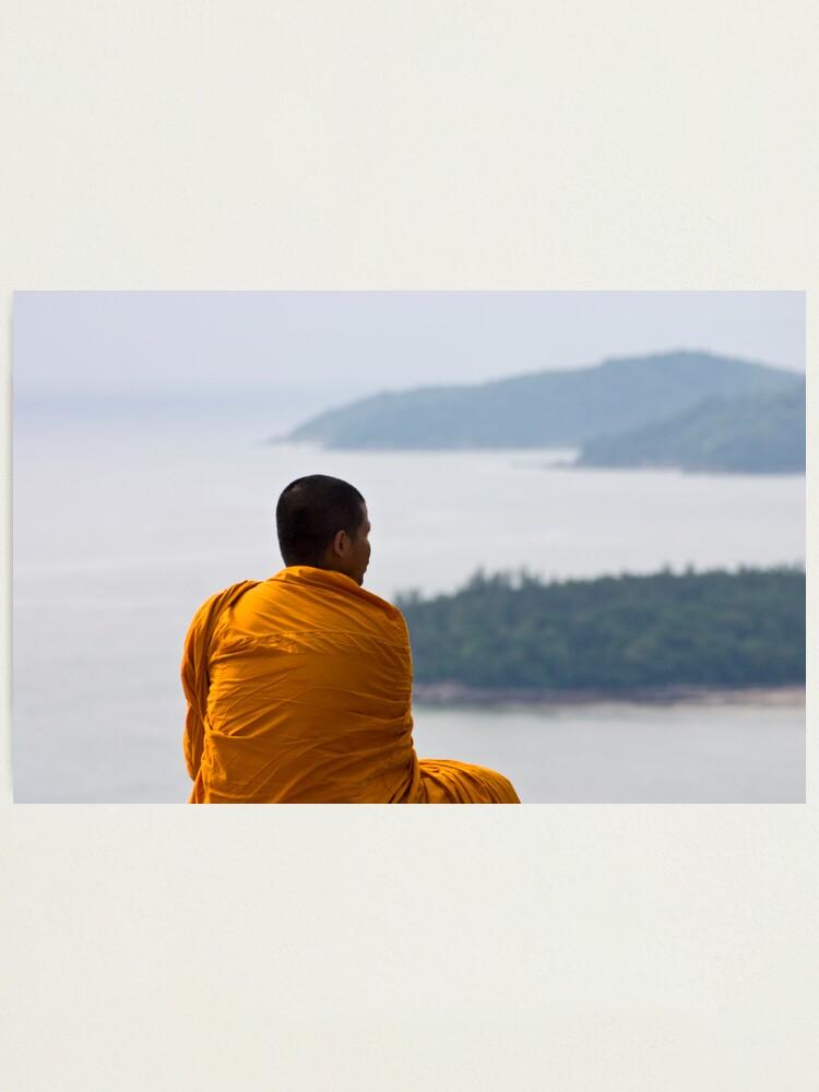 Alternate view of Thai Monk Photographic Print
