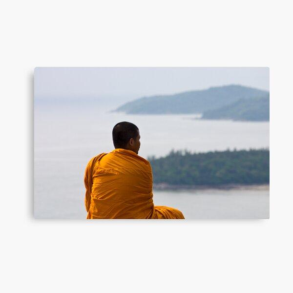 Thai Monk Canvas Print