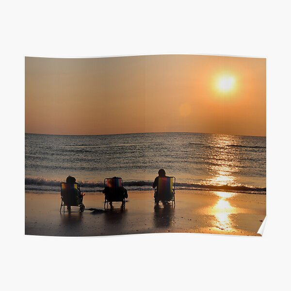 Relaxing Under the Sun Poster