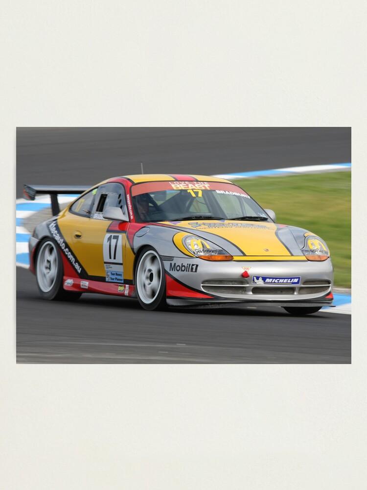 Alternate view of Porsche Power Photographic Print
