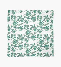 Floral Foliage and Leaves Scarf
