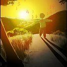 Coucher de soleil inspirant - Inspiring sunset by art-mella