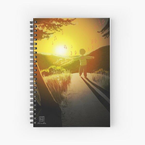 Coucher de soleil inspirant - Inspiring sunset Spiral Notebook