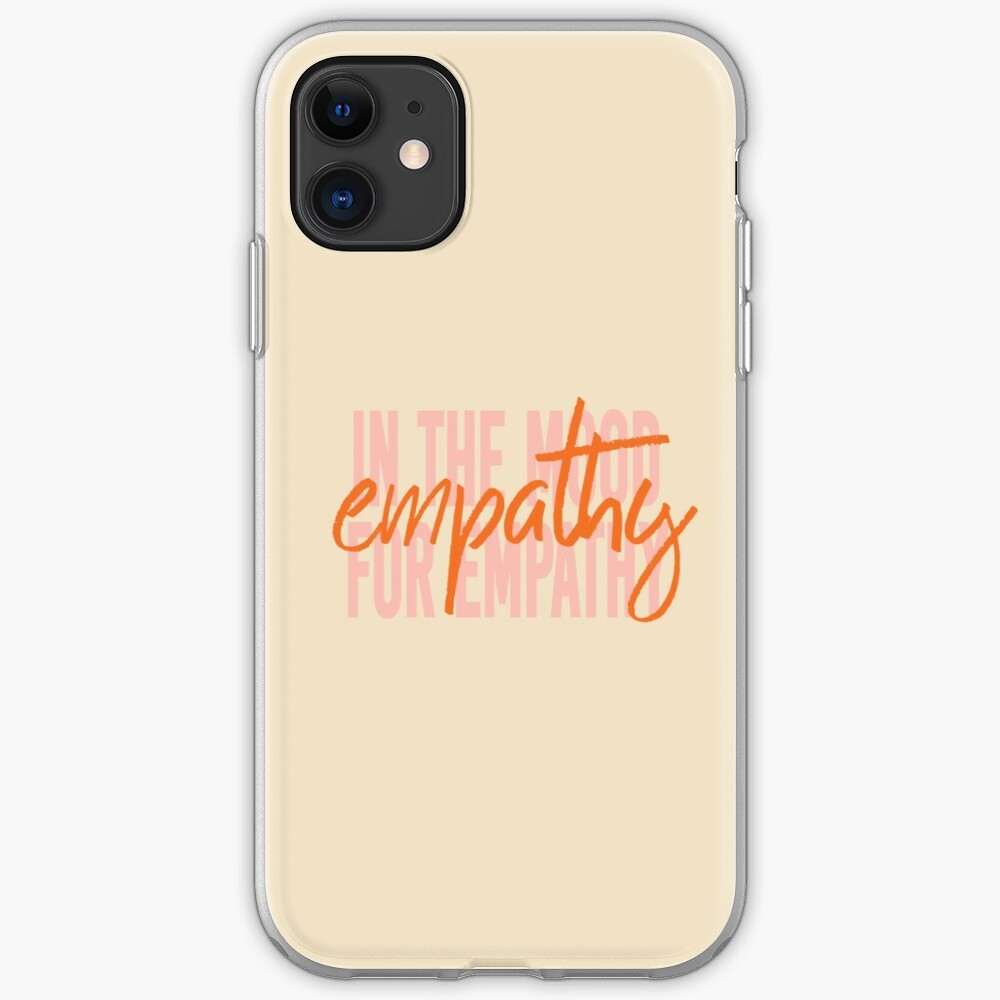 Tan Empathy iPhone Case & Cover