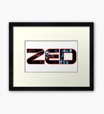 League of Legends LoL Zed the master of shadows Champion all skins Framed Print