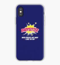 Babysitter When Parents Are Away I Save The Day iPhone Case