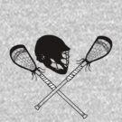 Lacrosse helmet & sticks by rmcbuckeye