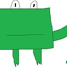 Rectangle Frog by Gabe-Draws