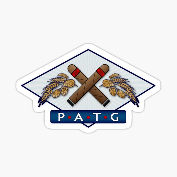 PATG Full Color Logo Sticker