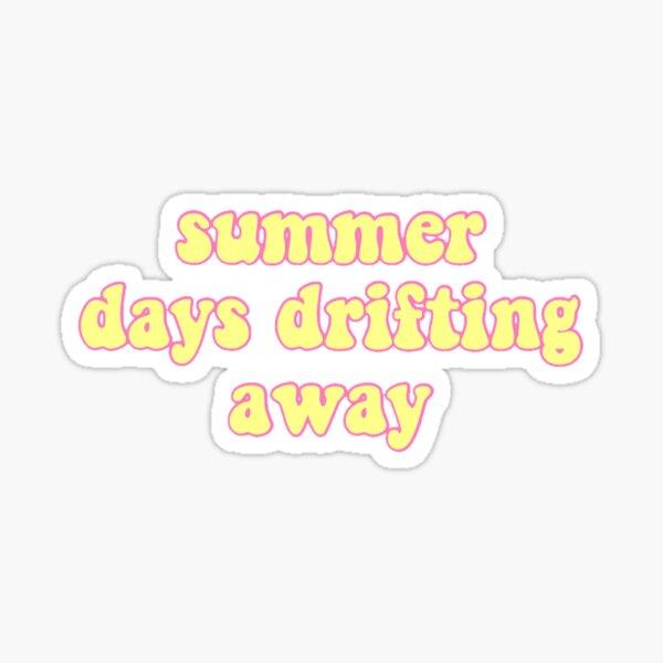 Grease summer days drifting away Sticker