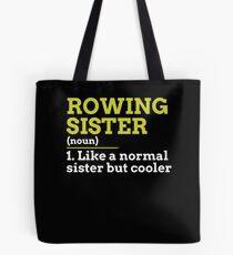 Rowing Sister Tote Bag