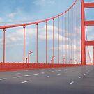Golden Gate Bridge by Marc  Mons