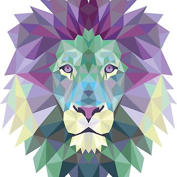 Polygonal Lion by criyoj