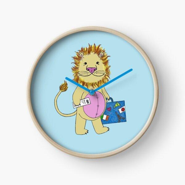 Baby Lion Traveler Clock
