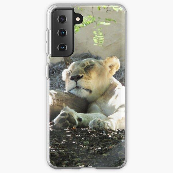Lazy lion Samsung Galaxy Soft Case