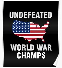 15660458e0f7 Back to World War Champs Posters | Redbubble