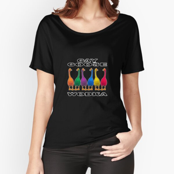 Gay Goose Wodka Relaxed Fit T-Shirt