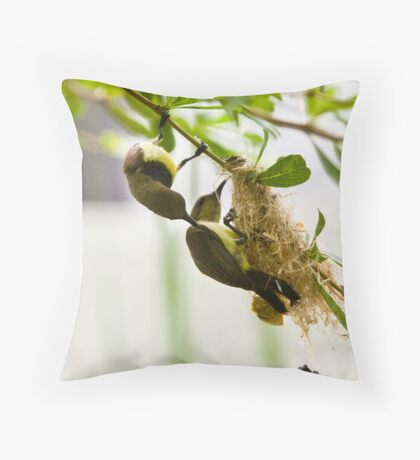 Get it right, George! Throw Pillow