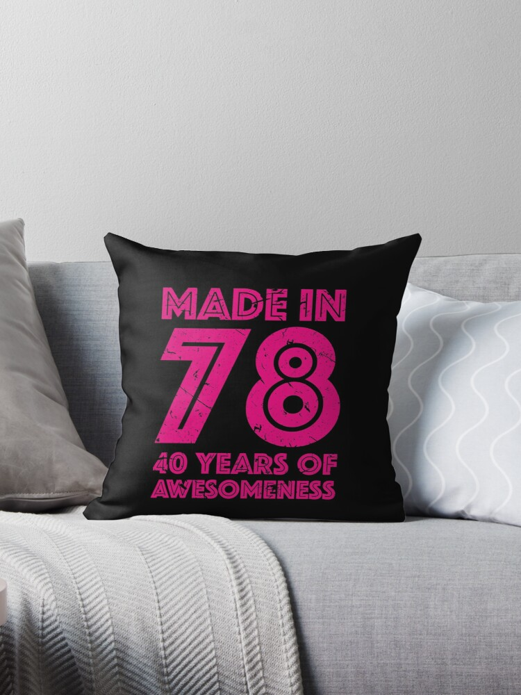 40th Birthday Gift Adult Age 40 Year Old Women Womens By Matt L
