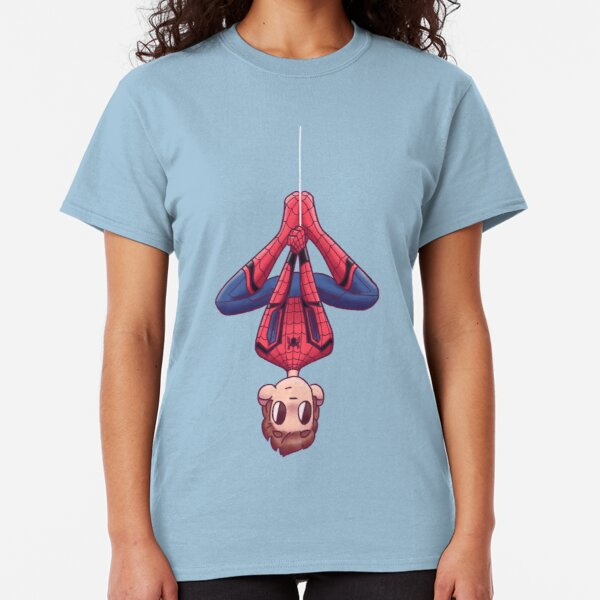 Upside Down Spidey Classic T-Shirt