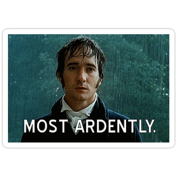 Most Ardently Sticker