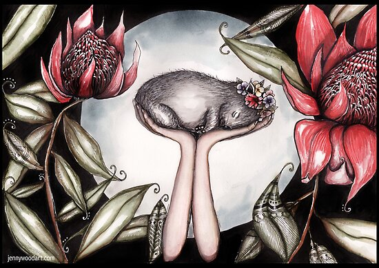 Ein kleines Stück Australien von Jenny Wood