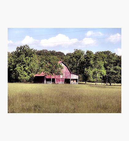 """""""'My Home away from Home',said the Farmer""""... prints and products Photographic Print"""