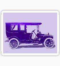1909 Packard Limousine Violet Pop Sticker