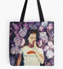 Bolsa de tela Lana puesta en flores