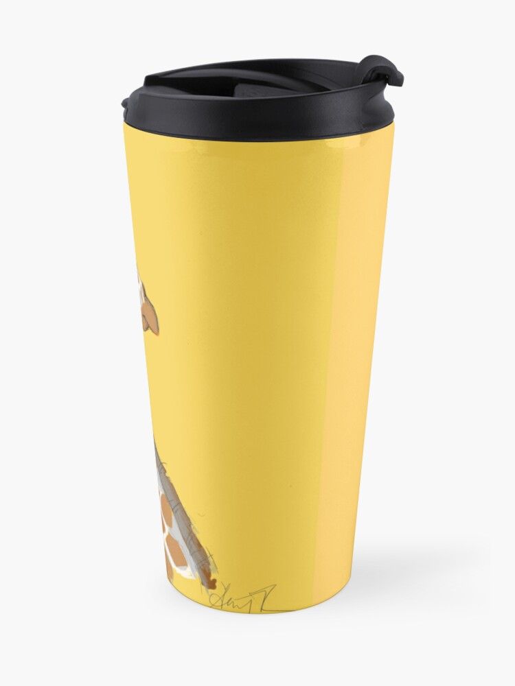 Alternate view of Giraffe Travel Mug
