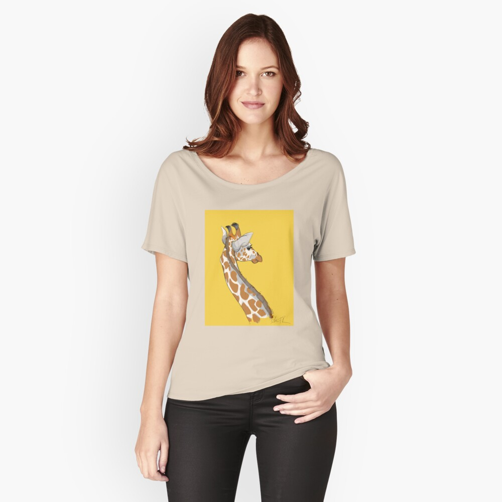 Giraffe Relaxed Fit T-Shirt