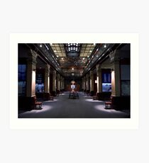 Mortlock Library - Lower Level. Art Print